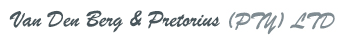 Van den Berg & Pretorius (PTY) LTD